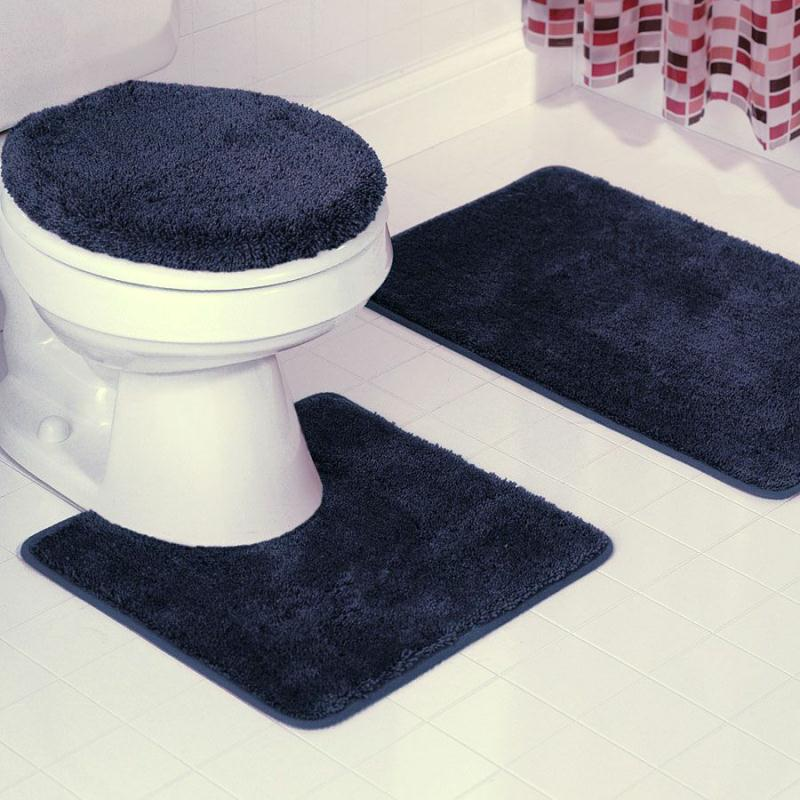 Bath Mat Sets - Long bath mats and rugs for bathroom decorating ideas